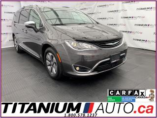 Used 2018 Chrysler Pacifica Hybrid Limited+Hybrid Plug-In+GPS+Pano+DVD+Blind Spot+360 for sale in London, ON
