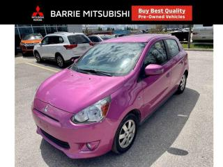 Used 2015 Mitsubishi Mirage SE for sale in Barrie, ON