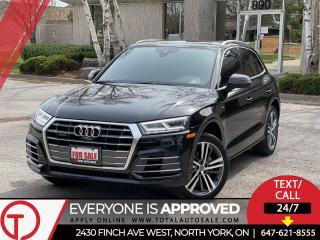 Used 2018 Audi Q5 S-LINE | TECHNIK | LOADED for sale in Burlington, ON