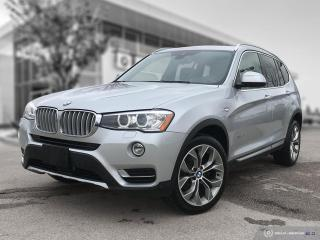 Used 2017 BMW X3 xDrive28i Enhanced! Accident Free! 4 New Tires + Front Brakes! for sale in Winnipeg, MB