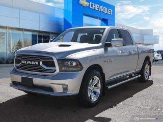 Used 2018 RAM 1500 Sport Crew Cab | 4WD | 5.7L V8 for sale in Winnipeg, MB