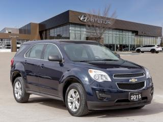 Used 2015 Chevrolet Equinox LS AWD | Heated Seats | Rear Camera | Remote Start | for sale in Winnipeg, MB