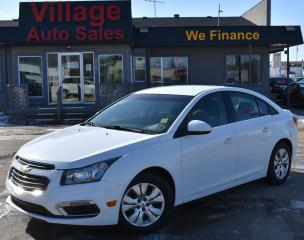 Used 2016 Chevrolet Cruze Limited 1LT CRUISE CONTROL! A/C! BACK UP CAMERA! for sale in Saskatoon, SK