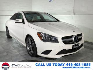 Used 2016 Mercedes-Benz CLA-Class CLA 250 4Matic AWD Nav Camera Ambient Certified for sale in Toronto, ON