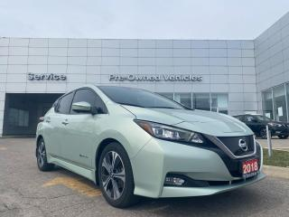 Used 2018 Nissan Leaf SL ONE OWNER TRADE WITH ONLY 50951 KM. for sale in Toronto, ON