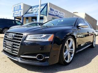 Used 2015 Audi S8 4.0T V8T|HUD|ADAPTIVE CRUISE|NO ACCIDENT|CERTIFIED for sale in Concord, ON