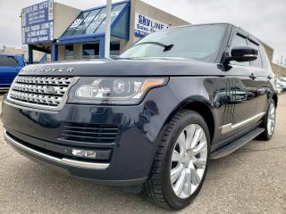 Used 2014 Land Rover Range Rover 5.0L V8 Supercharged ADAPTIVE CRUISE|NAVIGATION|BLIND SPOT|CERTIFIED for sale in Concord, ON