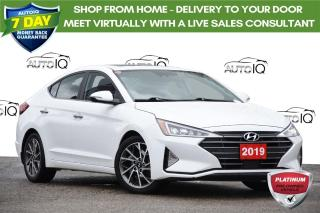 Used 2019 Hyundai Elantra Ultimate LOW KM | ONE OWNER | NAV | SUNROOF for sale in Kitchener, ON