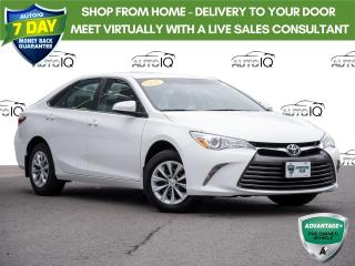 Used 2017 Toyota Camry | Sedan | LE | Bluetooth | Low Mileage for sale in Welland, ON