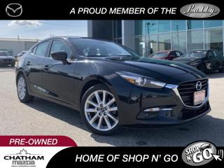 Used 2018 Mazda MAZDA3 GT for sale in Chatham, ON