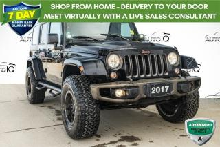 Used 2017 Jeep Wrangler Unlimited Sahara 75TH ANNIVERSARY | UPGRADED TIRES for sale in Innisfil, ON