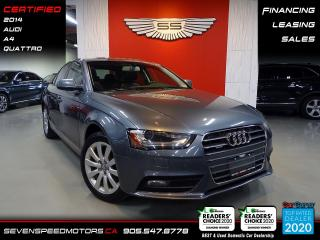 Used 2014 Audi A4 | CERTIFIED | FINANCE | 9055478778 for sale in Oakville, ON