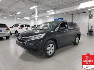 Used 2016 Honda CR-V LX - CAMERA + JAMAIS ACCIDENTE !!! for sale in Saint-Eustache, QC