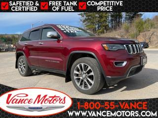 Used 2018 Jeep Grand Cherokee Limited 4X4...LEATHER*COOLED SEATS*SUNROOF! for sale in Bancroft, ON