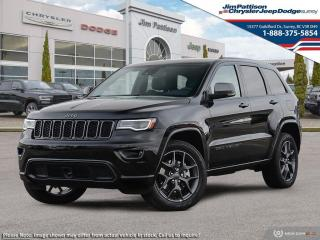 New 2021 Jeep Grand Cherokee 80th Anniversary Edition for sale in Surrey, BC