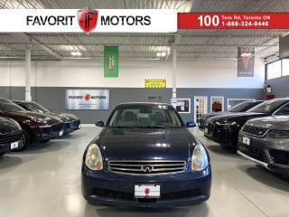 Used 2006 Infiniti G35 G35x AWD|NAV|BOSE|GREYLEATHER|SUNROOF|ALLOYS|+++ for sale in North York, ON