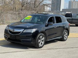 Used 2014 Acura MDX AWD 7 PASSENGER/REAR VIEW CAMERA/SUNROOF for sale in North York, ON
