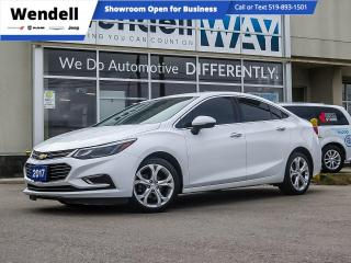 Used 2017 Chevrolet Cruze Premier Leather/CarPlay for sale in Kitchener, ON