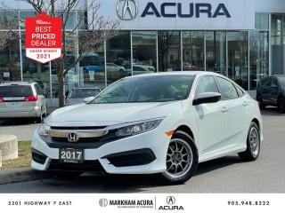 Used 2017 Honda Civic LX CVT Sedan for sale in Markham, ON