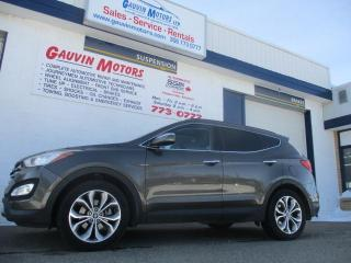 Used 2014 Hyundai Santa Fe Sport 2.0T Limited Leather Nav Pano Heated/Cooled Seats for sale in Swift Current, SK