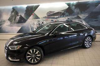 Used 2020 Audi A4 2.0T Komfort + Phonebox | Xenons | Sunroof for sale in Whitby, ON