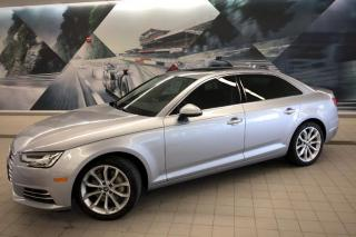 Used 2017 Audi A4 2.0T Progressiv + LED Lights   Driver Assist   Nav for sale in Whitby, ON