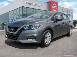Used 2021 Nissan Versa S for sale in Medicine Hat, AB
