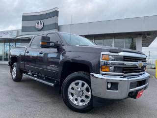 Used 2015 Chevrolet Silverado 2500 HD LT Z71 CREW SB 4WD DIESEL ALLISON TUNED LIKE NEW! for sale in Langley, BC