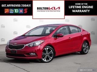 Used 2015 Kia Forte EX   SUNROOF   BACKUP CAM for sale in Bolton, ON