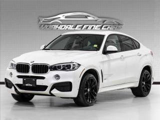 Used 2018 BMW X6 xDrive35i M Sport, intelligent Safty, Red Leather for sale in Concord, ON