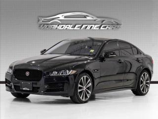 Used 2018 Jaguar XE 35t AWD R-Sport *Ltd Avail* Red Interior, Navi, Camera, Roof for sale in Concord, ON