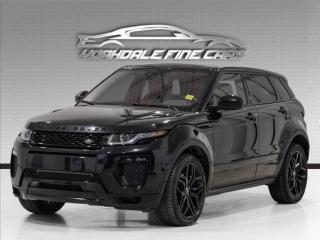 Used 2017 Land Rover Evoque HSE Dynamic Navigation, Camera, Panoramic, Black Pkg for sale in Concord, ON