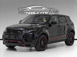 Used 2017 Land Rover Evoque HSE Dynamic Navigation, Camera, Panoramic, Red Int for sale in Concord, ON