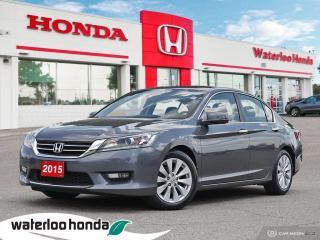 Used 2015 Honda Accord Sedan EX-L for sale in Waterloo, ON
