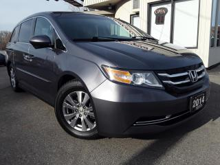 Used 2014 Honda Odyssey EX - BACK-UP/BLIND-SPOT CAM! POWER DOORS! 8 PASS! for sale in Kitchener, ON