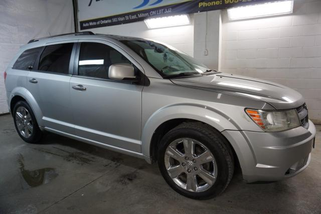 2009 Dodge Journey R/T V6 AWD DVD CAMERA 7 PSSNGR CERTIFIED 2YR WARRANTY BLUETOOTH SUNROOF HEATED LEATHER CHROME