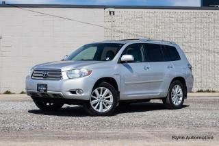 Used 2008 Toyota Highlander HYBRID Limited 4WD Nav, Sunroof, 7-seater for sale in St. Catharines, ON