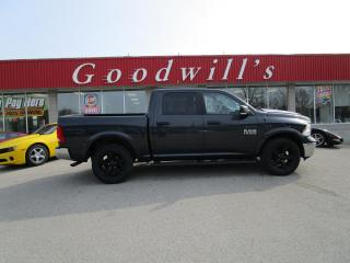 Used 2017 RAM 1500 CLEAN CARFX! REMOTE START! HEATED STEERING & SEAT! for sale in Aylmer, ON