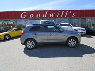 Used 2015 Mitsubishi RVR GT! FACTORY WARRANTY! CLEAN CARFX! PANORAMIC ROOF! for sale in Aylmer, ON
