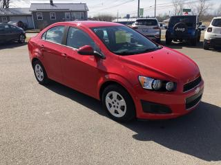 Used 2015 Chevrolet Sonic LS Auto Sedan for sale in Truro, NS