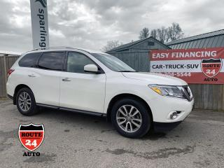 Used 2015 Nissan Pathfinder SV Perfect for family of up to 7, pull your trailer or boat. for sale in Brantford, ON