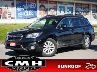 Used 2018 Subaru Outback 2.5i Touring  CAM ROOF P/SEAT P/GATE 17-AL for sale in St. Catharines, ON