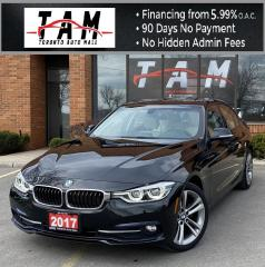 Used 2017 BMW 3 Series 320i Sport Line NAVI Sunroof Leather Heated Seats Low Km! for sale in North York, ON