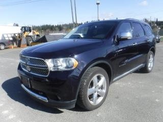 Used 2011 Dodge Durango Citadel AWD for sale in Burnaby, BC