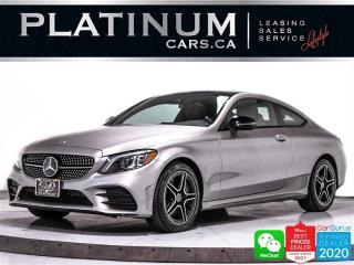 Used 2020 Mercedes-Benz C-Class C300 4MATIC, COUPE, AWD, AMG PKG, CAM, HEATED, NAV for sale in Toronto, ON