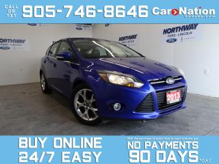 Used 2013 Ford Focus TITANIUM | HATCHBACK | NAV | LEATHER | ROOF | 54KM for sale in Brantford, ON