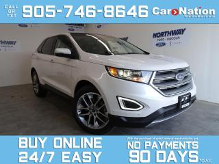 Used 2018 Ford Edge TITANIUM | V6 | AWD | PANOROOF | LEATHER | NAV for sale in Brantford, ON