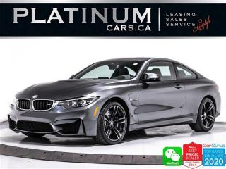 Used 2020 BMW M4 425HP, MANUAL, NAV, CAM, CARBON ROOF, HEATED for sale in Toronto, ON