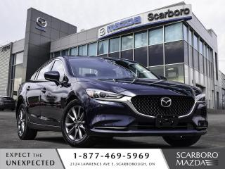 Used 2018 Mazda MAZDA6 LUXURY|SUNROOF|LEATHER SEATS|1 OWNER CLEAN CARFAX for sale in Scarborough, ON