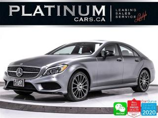 Used 2017 Mercedes-Benz CLS-Class CLS550 4MATIC, AMG PKG, DISTRONIC, CAM, HEATED for sale in Toronto, ON